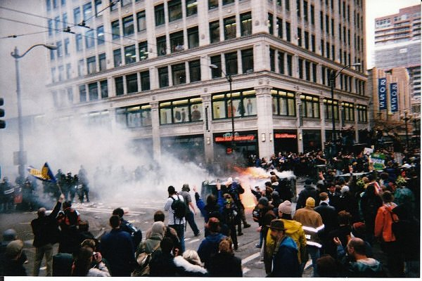 World Trade Organization Protests in Seattle