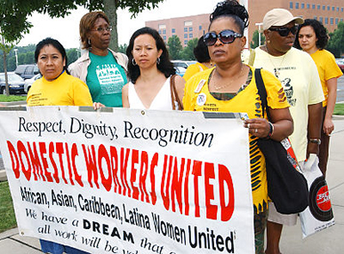 NYC-based Domestic Workers United, a membership-based social movement organization